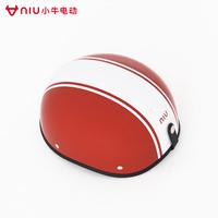 Maverick Electric NIU Ann полностью Половинный шлем разноцветный шлем популярный Безопасный полностью Защитная головка мотоцикла крышки синий белый черный красный полосатый