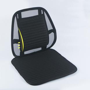腰靠垫椅子办公室靠背垫腰枕透气汽车护腰靠垫坐垫一体四季座椅垫