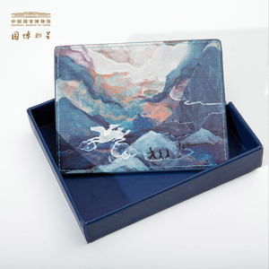 中国国家博物馆以梦为马复古卡包