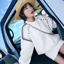 Fashion suit women's small women's wear two piece set of new thickened net red suit skirt and foreign style sweater in autumn and winter 2019
