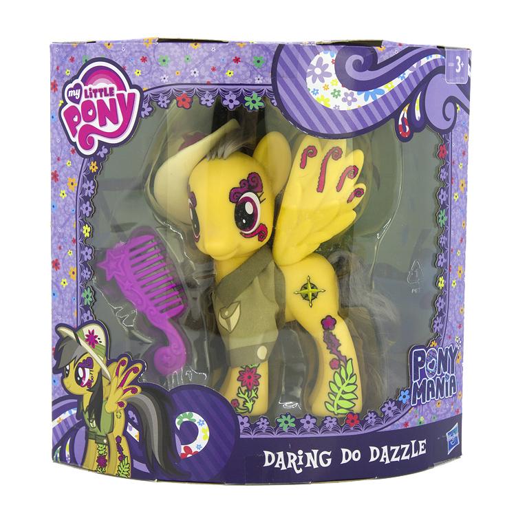 My little pony mania 带翅膀小马宝莉daring do dazzle大马15cm