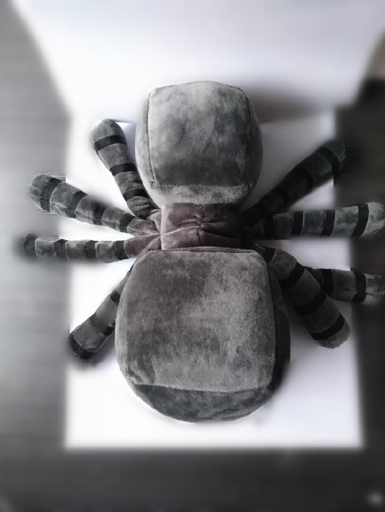 买三送一清仓亏本甩卖!!!我的世界 蜘蛛 毛绒玩具公仔玩偶抱枕兼容乐高
