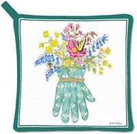 Alice's Cottage Floral Cotton Pot Holder, Garden Glove爱丽丝
