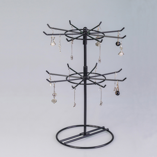 Lipstick rack, rotating jewelry rack, earring, headset accessories, hanging rack, necklace display rack, bracelet frame, mobile phone hook