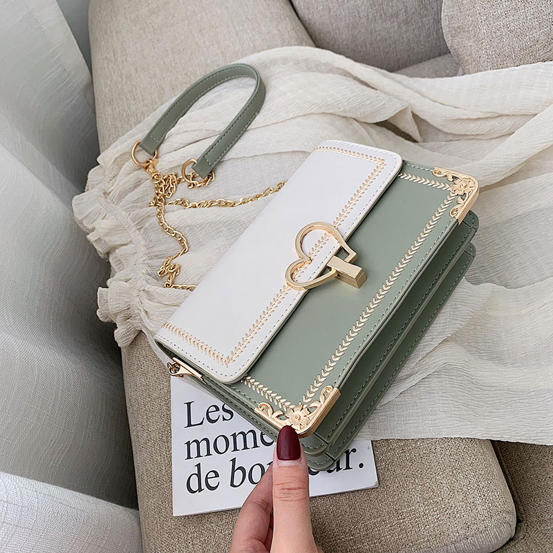 Small CK versatile small bag women 2020 new chain small square Bag Fashion Single Shoulder Messenger Bag soft leather Mobile Phone Wallet