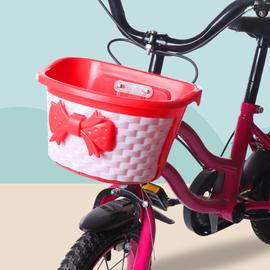 儿童车篮自行车车筐小孩前篮山地车前车篓车框塑料篮单车通用配件图片