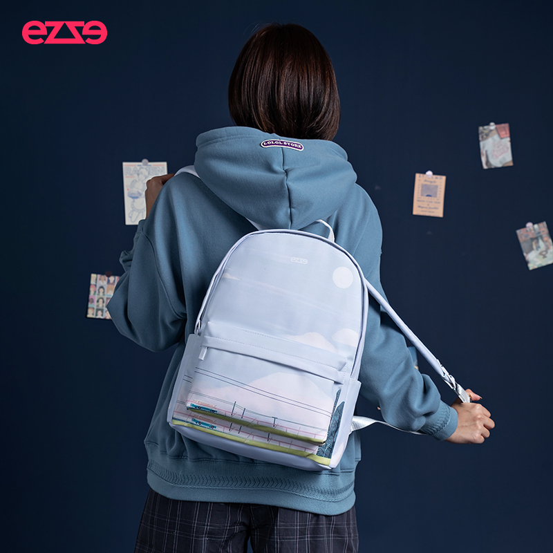 EE rebirth new campus versatile schoolbag for female college students