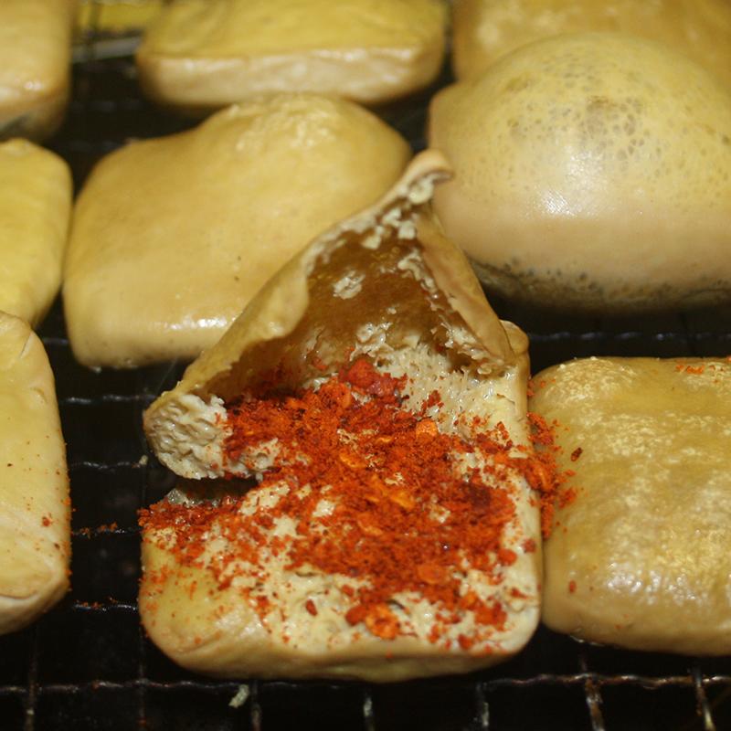 贵州特产毕节大方正宗六龙臭豆腐油炸手撕豆干散装新鲜碱豆腐干嫩