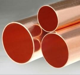 直铜管(m) Φ38×1.3×3m ≈4.01kg/米 紫铜管中央空调冷库直铜管