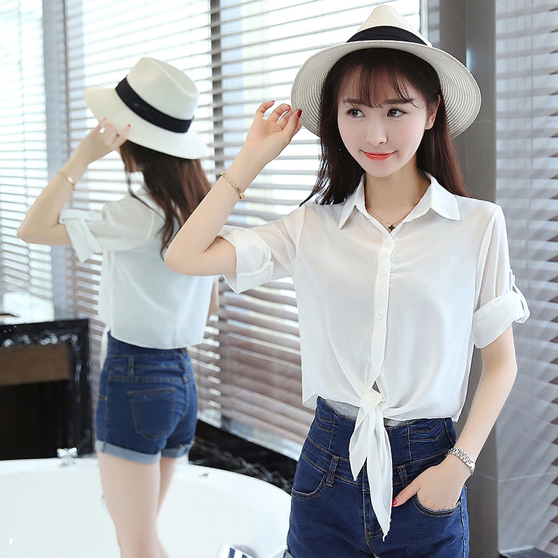 Small shawl jacket with suspender skirt, sun proof clothes, womens thin chiffon shirt, womens foreign style Korean version Xia Chaoxian