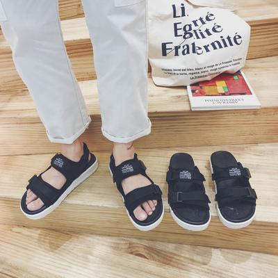 18夏季拖鞋男一字拖凉拖鞋时尚外穿防滑沙滩鞋子A220P50 控65