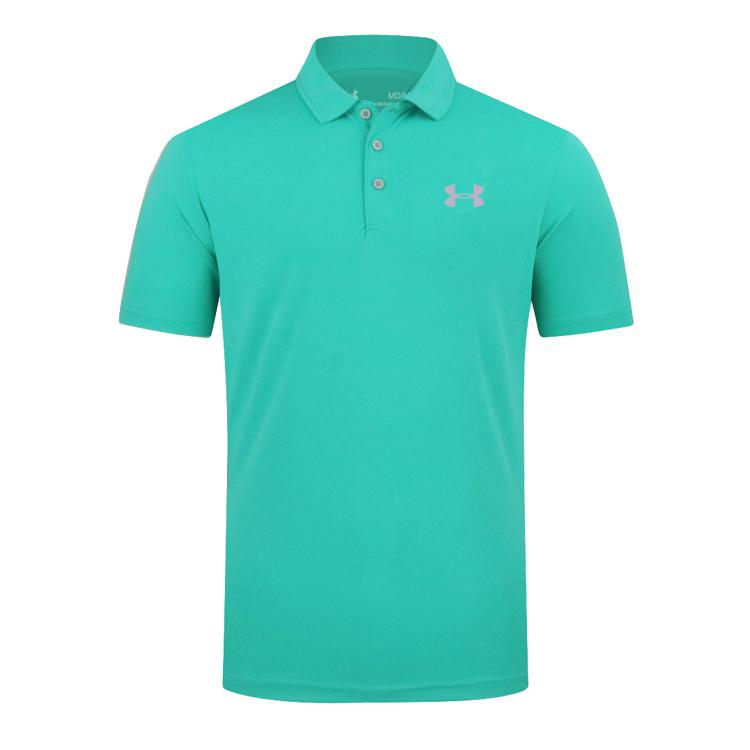 户外高尔夫运动polo衫男装透气高尔夫服装T恤速干免烫golf短袖男