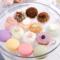 台湾仿真食物马卡龙水果点心巧克力法式面包糕点食品生日蛋糕模型