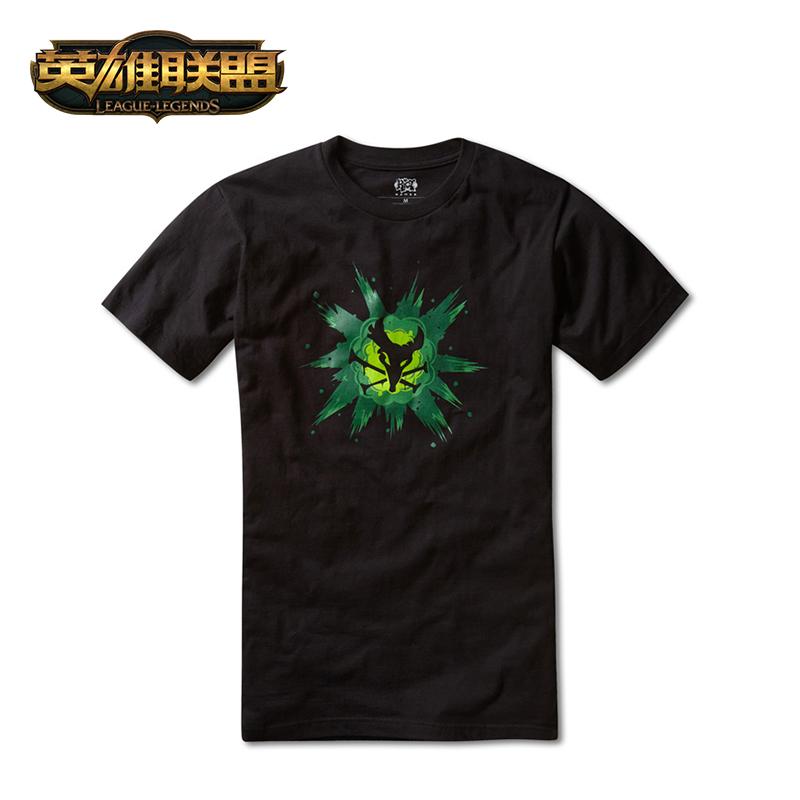 英雄联盟 LOL 瘟疫之源 图奇T恤短袖中性款 游戏周边 官方正品