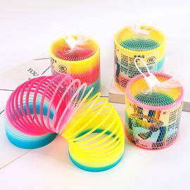 彩虹圈儿童宝宝益智早教发光魔力弹力弹簧圈圈套叠叠杯叠叠乐玩具