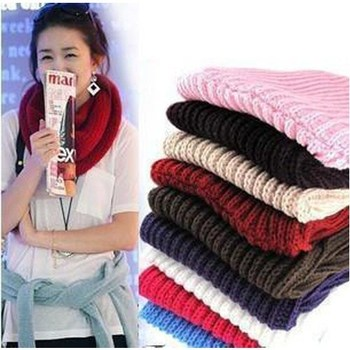 ��Winter Women Cotton Hed Scarf Ladies Neck Scarfs Muslim