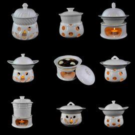 包邮纯白陶瓷精品创意养生炖盅蜡烛温饭暖菜加热套装茶道香炉