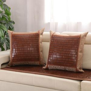 麻将凉席靠枕沙发靠背夏天竹麻将席抱枕套靠垫夏季沙发靠垫套抱枕