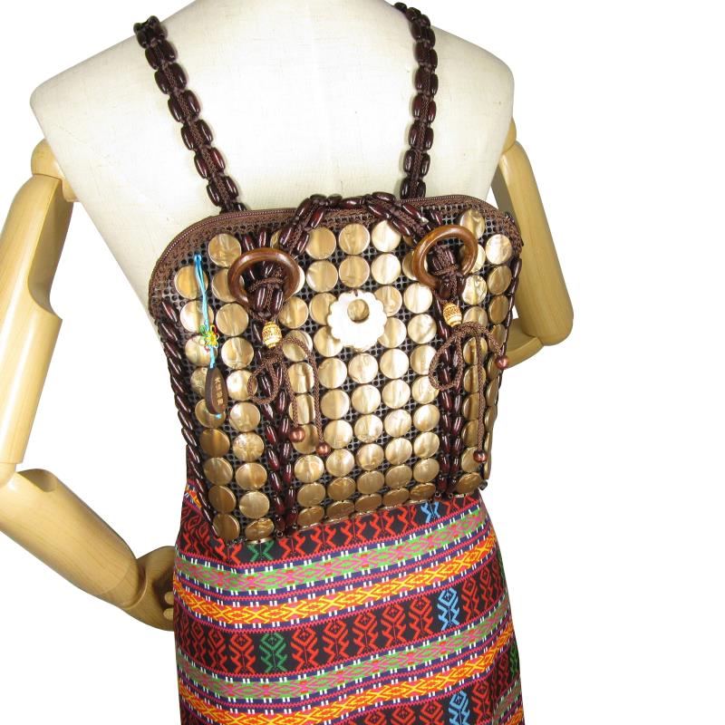 女性用のショルダーバッグ、ショルダーバッグ、2020新品のオリジナルデザイン編みディック貝殻包み、ココナッツシェルバッグ