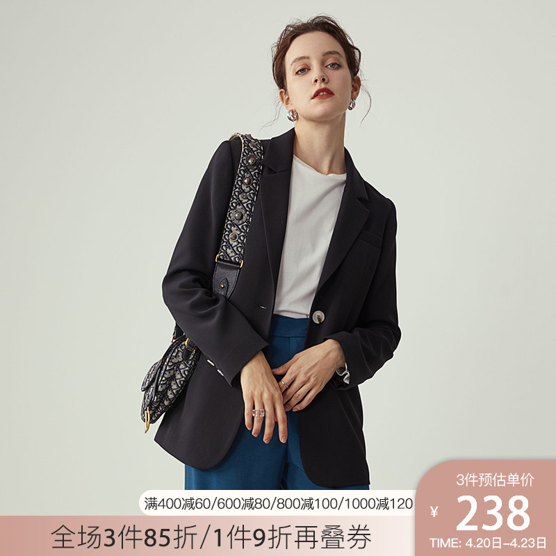 Van Silane fried street suit jacket women loose Korean version of the spring and autumn 2020 new temperament casual small suit jacket