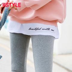 韩都衣舍2019春装新款女装韩版宽松学生纯棉打底长袖T恤EQ10997婋