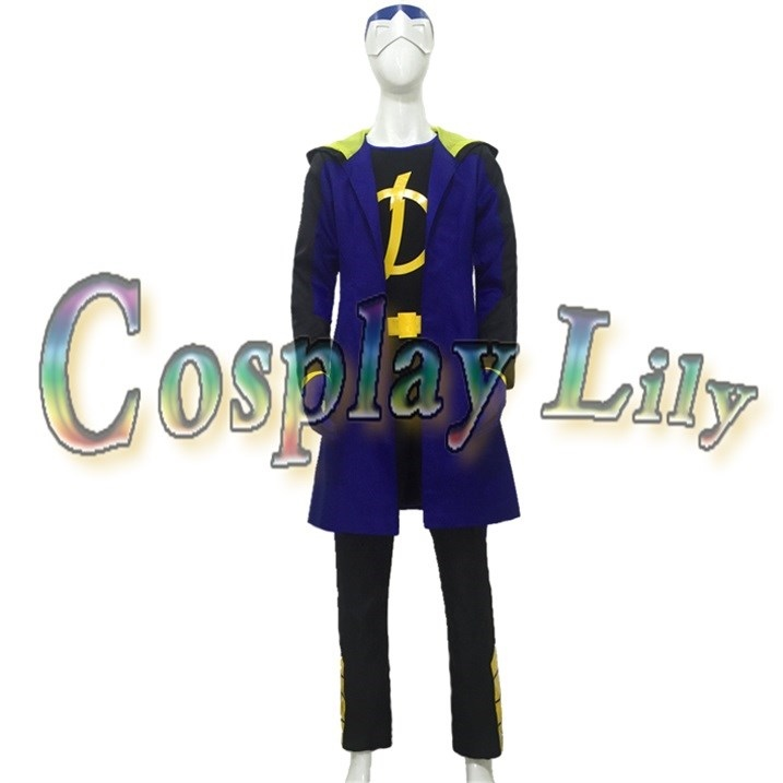 Cosplay static animation costume stage performance Halloween role play real shot customized package mail