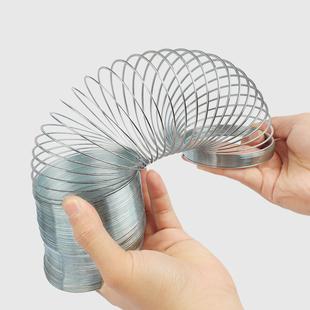 彩虹圈金属美国Slinky 弹簧 弹簧圈 会下楼梯 塑料弹力圈 机灵鬼