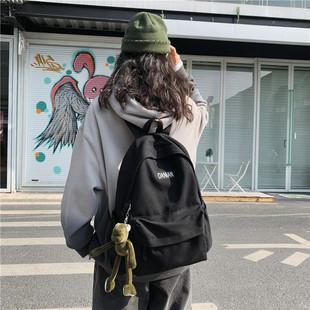 港風潮牌書包女韓版原宿ulzzang高中校園風ins中學生揹包男雙肩包