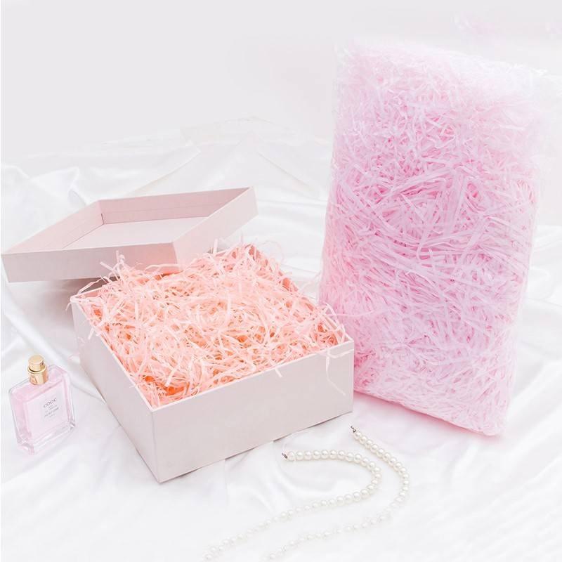 创意彩色碎纸丝草礼物盒子填充物喜糖盒子礼品盒包装干花配件12月02日最新优惠