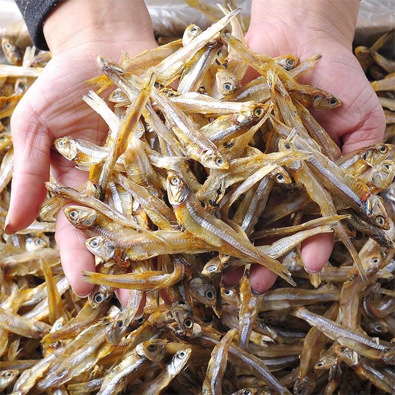 小鱼干500g包邮海鲜干货海燕小咸鱼干特产自制风干小干鱼仔小银鱼