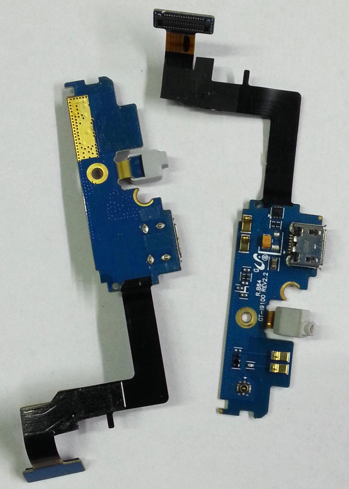 适用三星I9100G尾插S2排线M250S充电小板9103i929i9108i9105P听筒