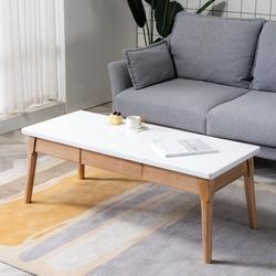 北欧新款小户型现代简约家用沙发组合实木客厅茶几休闲咖啡桌子