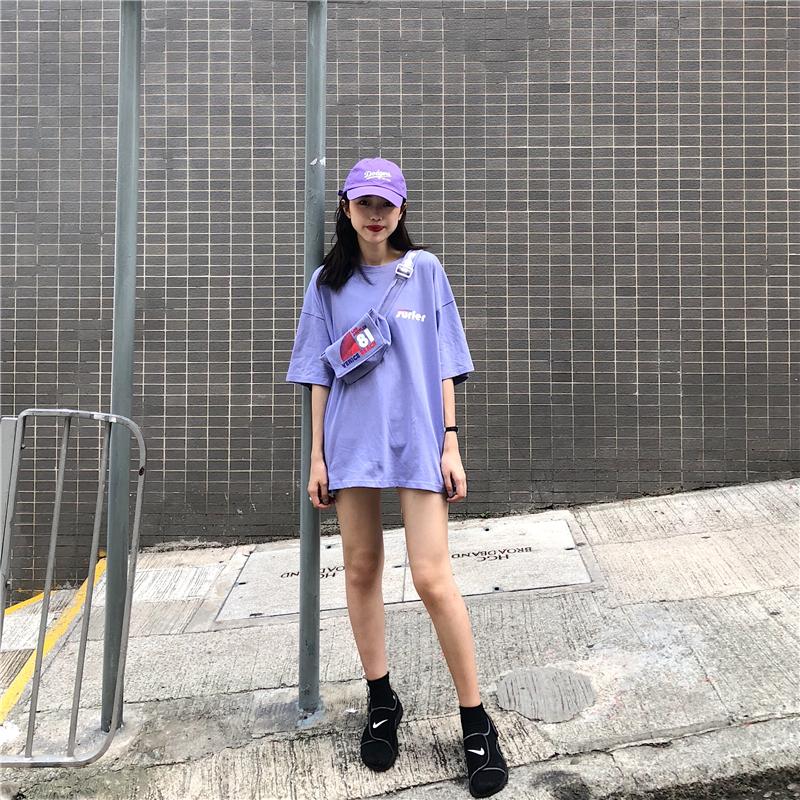 社会女衣服霸气韩国休闲字母+t恤限2000张券