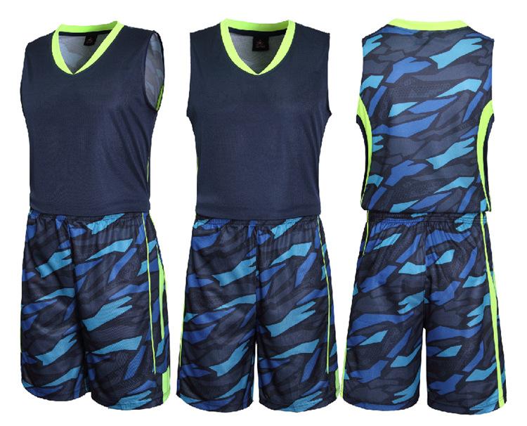 团购 篮球服套装 CBA广东宏远主客场蓝白色球衣 定制印字印号