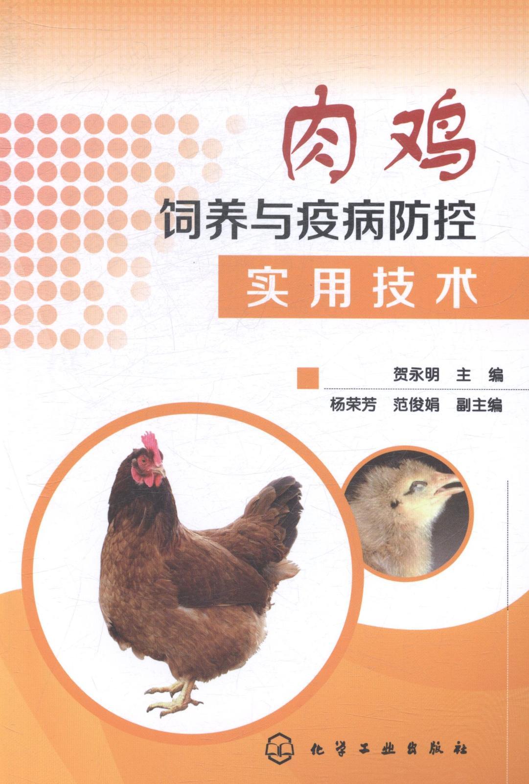 正版包邮 肉鸡饲养与防病防控实用技术 贺永明  化-养殖书籍(江苏人天图书专营店仅售18元)