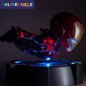 磁悬浮钢铁侠手办模型玩具可发光