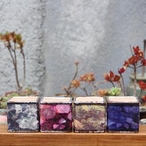 欧式简约多肉花盆创意清新迷你四方形花盆陶瓷绿植白瓷花盆栽包邮