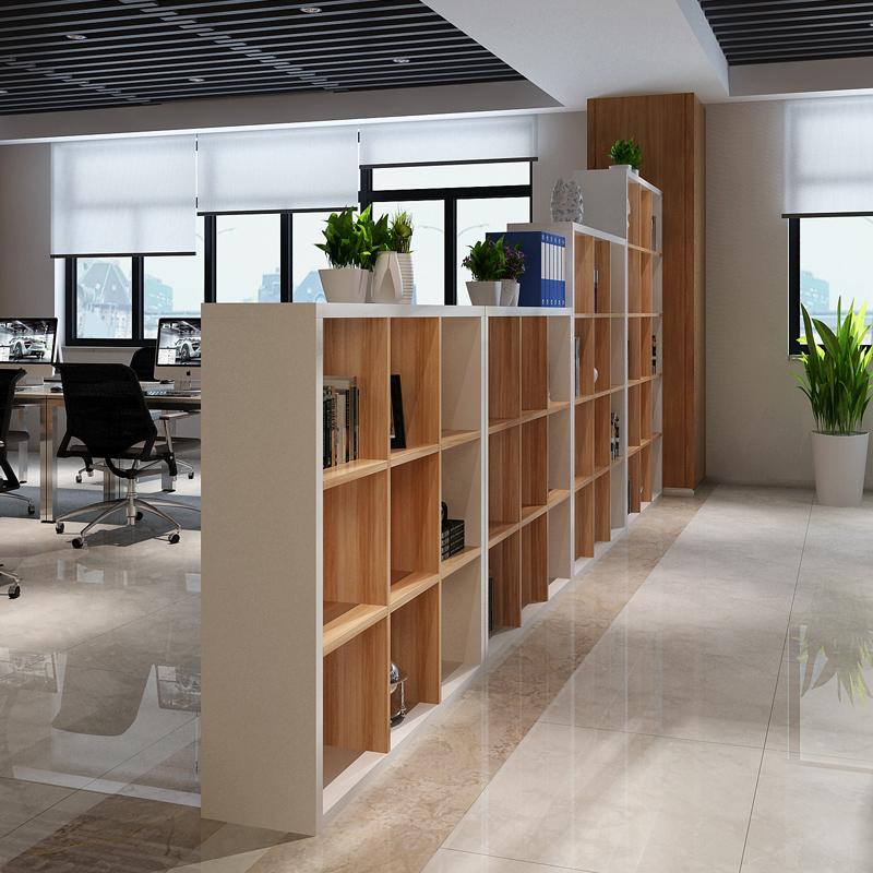 Новый деревянный сочетание картотеки книжный шкаф книжная полка стенды сетка кабинет хранение шоу кабинет офис комната отрезать кабинет вход