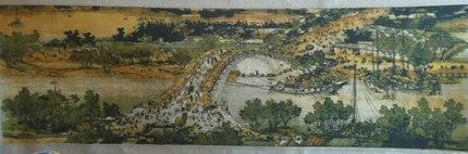 出售卖十字绣成品清明上河图3米的