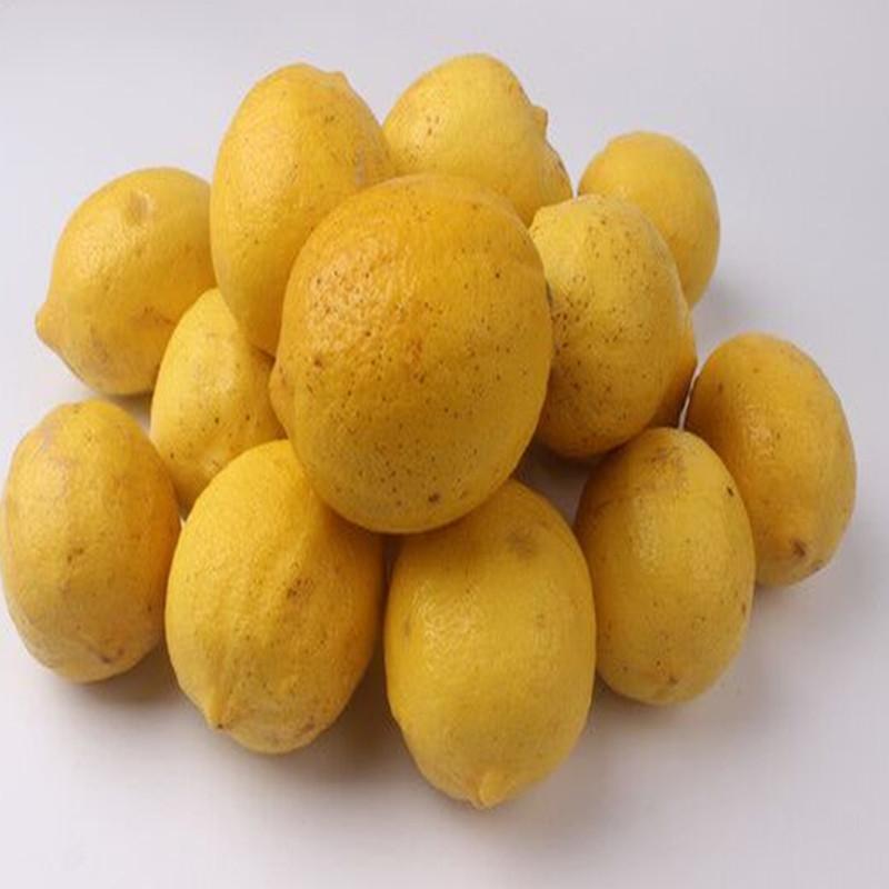 四川安岳新鲜水果5斤包邮黄柠檬限7000张券