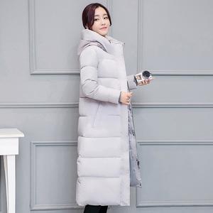 新款外套韩版棉衣连帽中长款加厚羽绒服