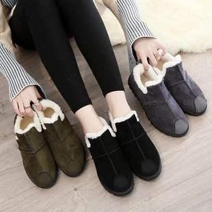 78新款加绒棉鞋韩版一脚蹬休闲鞋