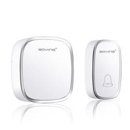 博颖D201无线门铃直流防水远距离遥控用电池不插电老人呼叫器包邮图片