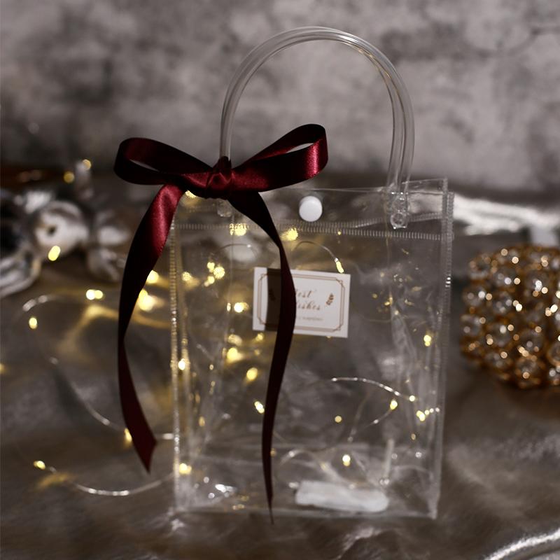 回礼袋结婚手提袋礼品袋伴手礼包装袋喜糖礼袋请帖喜糖盒三件套红11月03日最新优惠