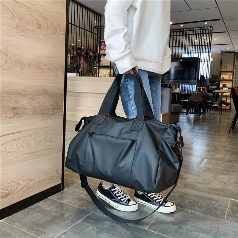 大容量短途出差网红旅行包 手提运动健身包女 防水行李包男行李袋