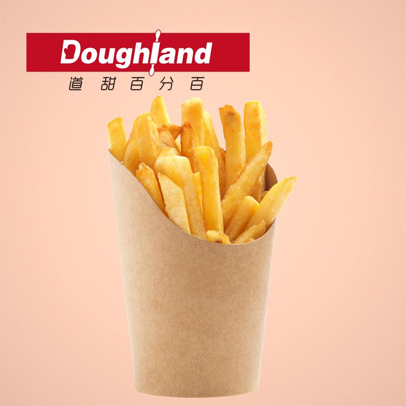 蓝威斯顿薯条2kg 肯德基生薯条 KFC冷冻直薯条 油炸细薯条粗薯条