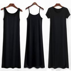 2020年新款莫代尔吊带女夏春秋裙子
