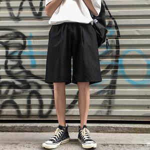 2020夏季新款运动裤韩版宽松休闲男士短裤潮牌休闲裤五分裤沙滩裤