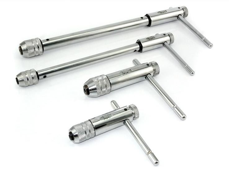 可调式棘轮丝锥扳手绞手 丝攻扳手 加长型丝锥铰手 M3-M8 M5-M12