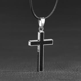 愛神十字架吊墜項鏈男個性配飾創意配鏈個性潮男飾品配件